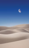 wydmy pustynne Obrazy Royalty Free