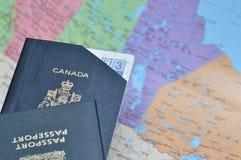 wydychany paszport obrazy stock