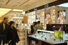 wydziałowy Hong kong sogo sklep Zdjęcia Royalty Free