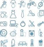 wydziałowy ikon menu sklep Obraz Royalty Free