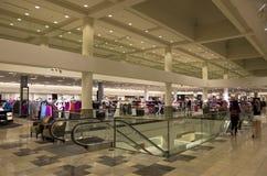 Wydziałowego sklepu moda Obrazy Royalty Free