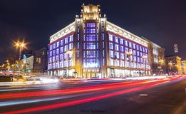 Wydziałowego sklepu TSUM Handlarskiego domu TSUM TH magazin sklep Obrazy Stock
