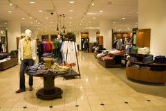 Wydziałowy moda sklep Zdjęcia Stock