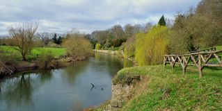 Wye ποταμών στοκ εικόνα με δικαίωμα ελεύθερης χρήσης