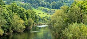 Wye do rio Fotografia de Stock