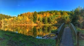 Wye dolina Fotografia Stock