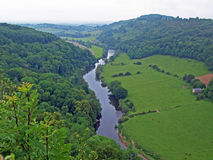 The Wye Valley Royalty Free Stock Photos