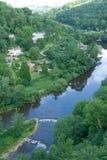 Wye valley - Symonds Yat. The river Wye at Symonds Yat Royalty Free Stock Image