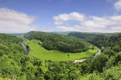 Symonds Yat Gloucestershire UK Royalty Free Stock Photos