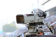 wyemitowana kamera tv Obrazy Stock