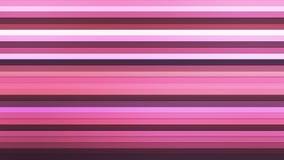 Wyemitowani Mrugliwi Horyzontalni technika bary, purpury, abstrakt, Loopable, 4K royalty ilustracja