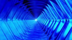 Wyemitowany Niekończący się tunel 21 royalty ilustracja