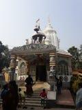Wygłupy świątynia zdjęcie royalty free