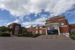 Wyggeston & högskola för drottning Elizabeth I royaltyfria bilder