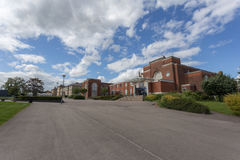 Wyggeston & högskola för drottning Elizabeth I royaltyfri fotografi
