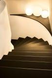 Wygina się schody Fotografia Stock