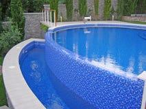 Wyginający się basenu foto Fotografia Stock