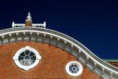 wyginający się dach Obrazy Royalty Free