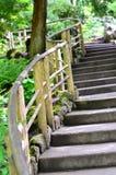 wyginający się schodek Zdjęcie Royalty Free