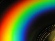 wygląda na cd rainbow Obrazy Stock