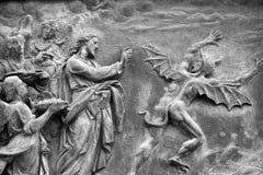 wygnanie diabeł obrazy royalty free