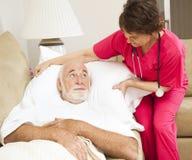 wygod zdrowie stwarzać ognisko domowe pacjenta Zdjęcia Royalty Free