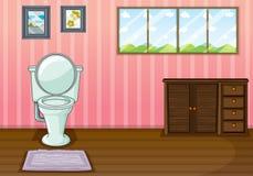 Wygoda pokój royalty ilustracja