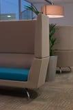 Wygodny Handlowy miejsca siedzące teren Obrazy Stock