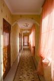 Wygodny hotelowy korytarz Zdjęcie Stock