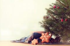 Wygodny poranek bożonarodzeniowy zdjęcie royalty free