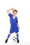 wygrana piłki nożnej fotografia royalty free