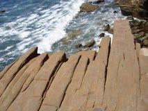 Wygryziona skała Zdjęcie Stock