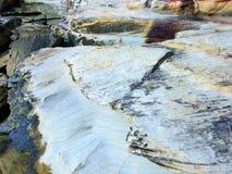 Wygryziony piaskowiec, Sydney schronienie, Australia Zdjęcie Stock