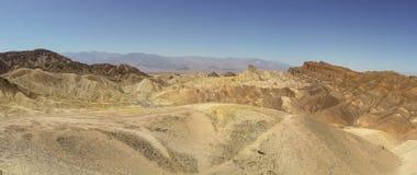 Wygryzionych grani śmiertelny dolinny park narodowy Obraz Royalty Free