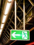 Wyjście ewakuacyjne znak obrazy royalty free