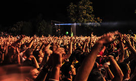 WYJŚCIE festiwal muzyki 2013 Obrazy Stock