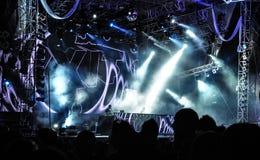 WYJŚCIE festiwal muzyki 2013 obraz royalty free