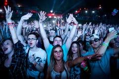 Wyjście festiwal 2015 - taniec arena zdjęcie stock