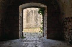 Wyjście od fortu obraz stock