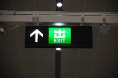 Wyjście znak Zdjęcia Royalty Free