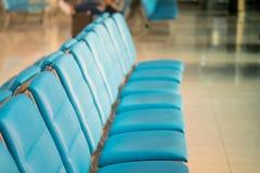 Wyjściowy nowożytny hol przy lotniskiem obrazy stock