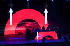Wyjście festiwalu muzyki 2013 tana arena Obrazy Stock