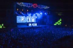 Wyjście festiwalu muzyki 2013 tana arena Zdjęcie Stock