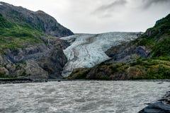 Wyjście lodowiec w Seward w Alaska Stany Zjednoczone Ameryka zdjęcie royalty free
