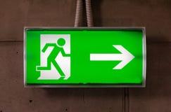 Wyjście znak Zdjęcie Royalty Free