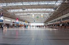 Wyjściowy hol przy lotniskiem w Antalya, Turcja Fotografia Royalty Free