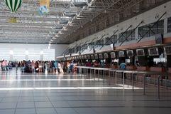 Wyjściowy hol przy lotniskiem w Antalya, Turcja Zdjęcie Stock
