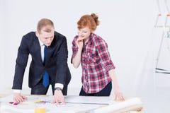 Wyjaśniać projektów szczegóły ona Zdjęcia Stock