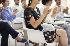Wykład i szkolenie w biznesowym biurze zdjęcia stock