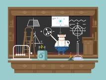 Wykład profesorem ilustracji